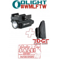 Olight PL Mini2 + Edge Custom Carry IWB Holster CZ P07
