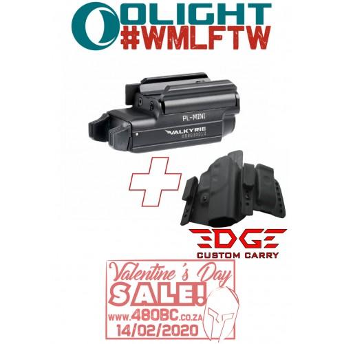 Olight PL Mini+ Edge Custom Carry Rambler Glock 17/19/22/23