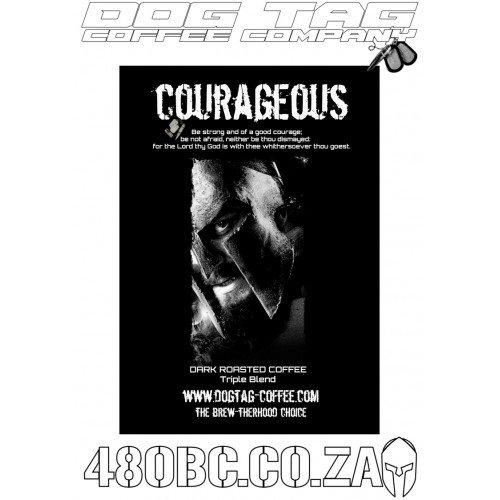 Dog Tag Coffee - Courageous