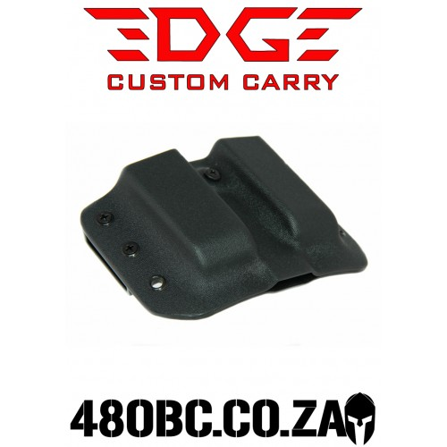 Edge Custom Carry OWB Double Mag Carrier