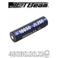 JETBeam JL260 18650 2600mAh 3.7V Protected Lithium Ion (Li-ion) Button Top Battery