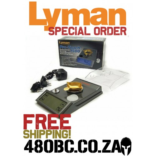 Lyman Pro Touch 1500 Scale
