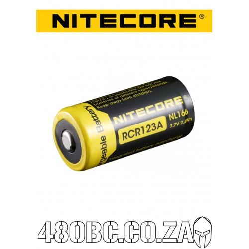 Nitecore RCR123 650 mAh NL166