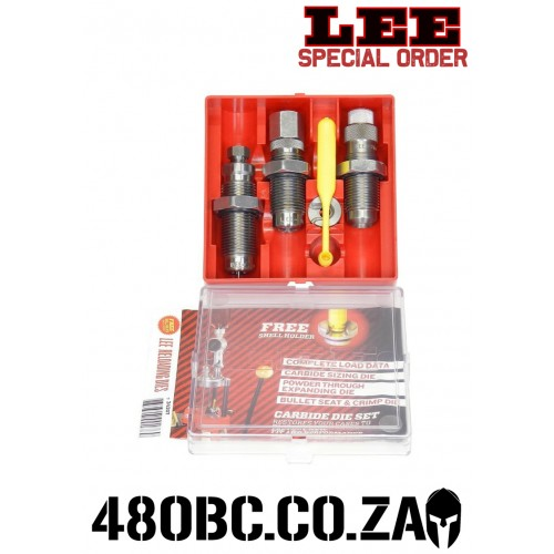 Lee Precision Pistol 3 Die Carbide Set