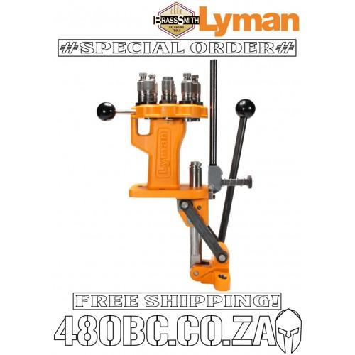Lyman Brass Smith All American 8 Turret Press